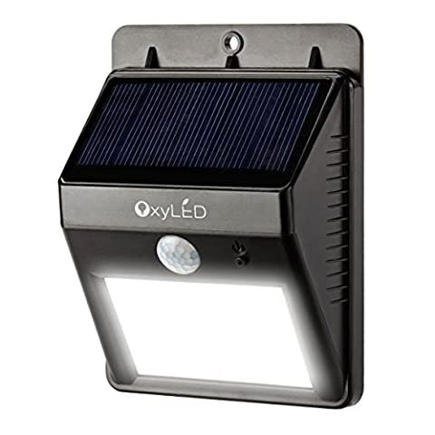 mur d'éclairage - OxyLED Éclairage Extérieur Solaire Lampe Solaire 8