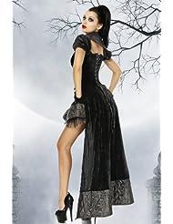 heißes Gothic Vampir Kostüm