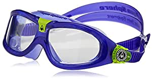 Aqua Sphere Seal Kids' 2 Swimming Goggles - Violet, Clear Lens