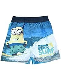 Boys Minions Swimshorts Despicable Me Beach Shorts Sizes 4-12yrs FREE P/&P
