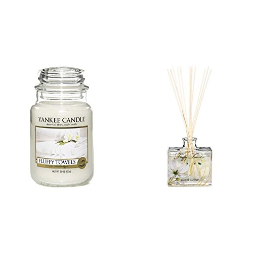 -[ Yankee Candle Fluffy Towels Jar Candle - Large  ]-