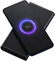 Original Xiaomi 10000mAh Qi Wireless Charger Power Bank Support 10W Wireless Fast Charging Portable Can be on