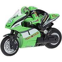 Markc Remoto inalámbrico de la motocicleta control de la deriva del truco del campo a través Pequeño mini de dos ruedas de carga ceremonia de cumpleaños de los niños eléctrico modelo de juguete de Lit