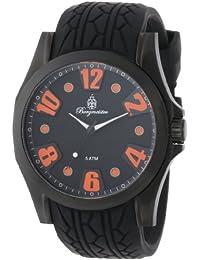 Burgmeister Herren-Armbanduhr XL Analog Quarz Silikon BM606-622B