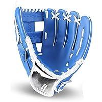 GXQ-AIJINGYU Equipo de práctica de softbol de Guantes de béisbol para Deportes al Aire Libre, tamaño 10.5/11.5/12.5, Mano Izquierda para Hombre Adulto Mujer Tren