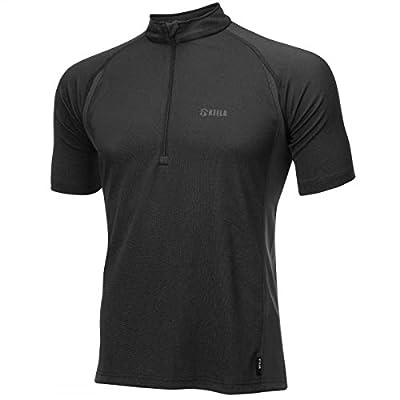 Keela Herren ADS Advance Short Sleeve Zip Top Base Layer von Keela - Outdoor Shop