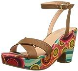 DESIGUAL Womens Sandalia Bloque Flip-Flops
