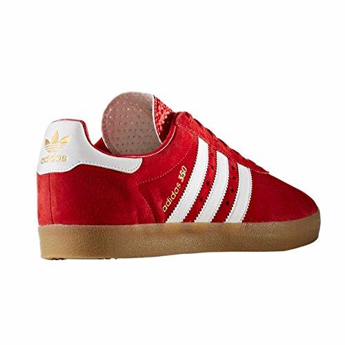 adidas 350 noir et rouge. chaussures de sport pour hommes. Sneaker Rouge