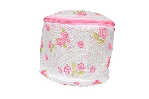 Ladyfab Lingerie/ Laundry Washing Bag , Shape Round , Zip Encloser