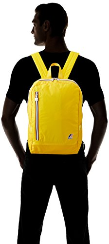 K-Way K-Pocket, Zaino Unisex-Adulto, 15 x 42 x 31 cm (W x H x L) Giallo (M0 Yellow Mustard)