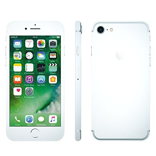 IPHONE 7 WEISS MATT FOLIE SKIN ZUM AUFKLEBEN bumper case cover schutzhülle i - Farbige Iphones