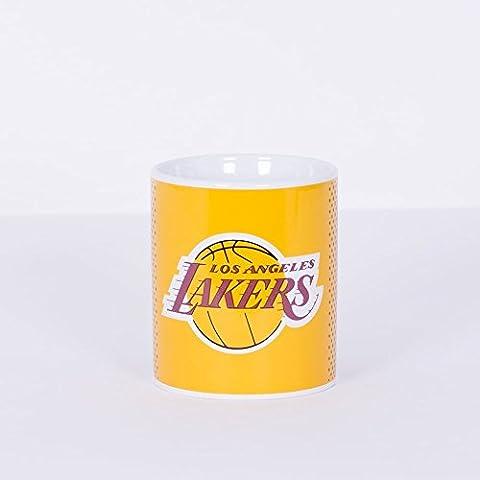La Lakers American Basketball NBA Fade Boxed Mug Official Licensed Tea Coffee
