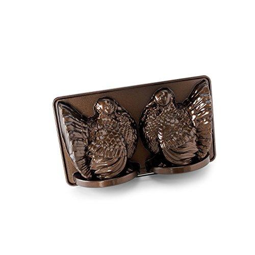 Nordic Ware Classic Turkey 3D Pan, Bronze - Nordic Ware Star Bundt Pan