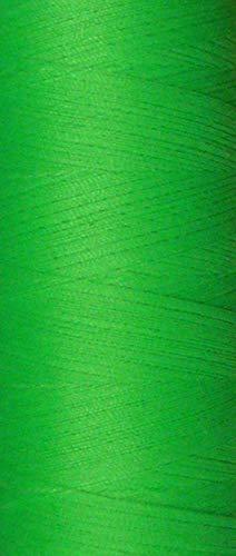 Coats Epic Nähfaden neon grün 1000 m - Rollen Allesnäher Stärke 120 (0,003 Euro/m) Neon-grüner Reißverschluss