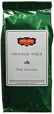 ERIC BUR Thé Oolong Semi Vert 100 g - Lot de 3