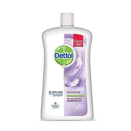 Dettol Liquid Soap Jar Sensitive