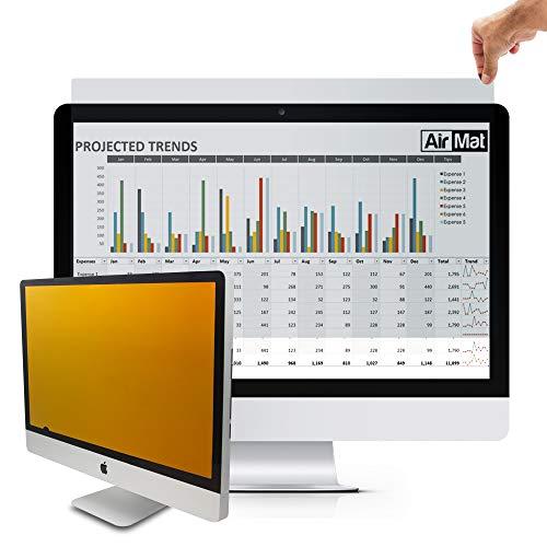 Air Mat Premium Desktop Blickschutzfilter 17 Zoll, Privacy Screen Filter und Blickschutzfolie kompatibel mit Standard Computermonitore (Samsung, Lenovo, Toshiba) 5:4. Schützt vor unerwünschten Blicken.