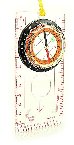 SaySure - Map Measure Ruler Magnifying Glass All in 1 Mini Outdoor
