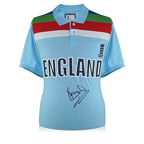 Sir Ian Botham Signed 1992 World Cup England Cricket Shirt