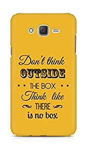 Amez Dont think Outside the Box think like there is no Box Back Cover For Samsung Galaxy J7