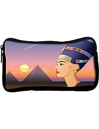 Snoogg Pluma Lápiz Maquillaje Neceser de aseo de Lona con cremallera bolso de mano bolsa de