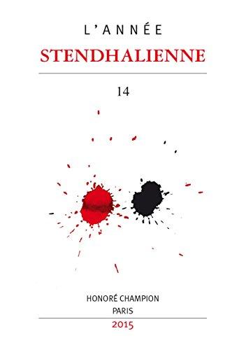 ANNEE STENDHALIENNE (L')- N°14.