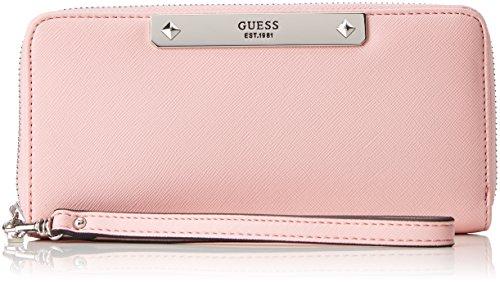 Guess Damen Slg Wallet Geldbörse, Pink (Blush), 2x10x21 centimeters