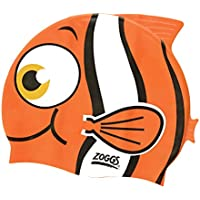 Zoggs Kid's Silicone Character Goldfish Swimming Cap