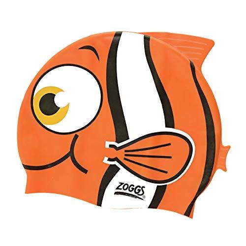 Zoggs Kinder Badekappe Fisch, wasserfest