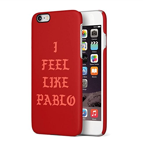 Middle Finger Emoji IDFWU I Don't Fuck With You Apple iPhone 6 / iPhone 6S SnapOn Hard Plastic Phone Protective Custodia Case Cover Feel Like Pablo