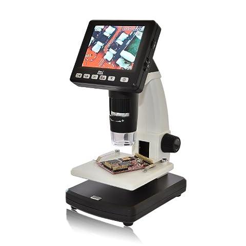 Caméra microscope numérique USB/TFT 5 MPix zoom 20 à 500