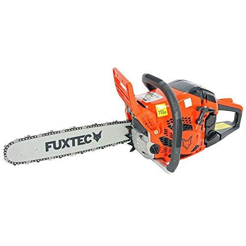 FUXTEC Benzin Kettensäge FX-KS142 Schwert 38 cm Kette 42 cc Motorsäge MS Motorkettensäge PS Säge