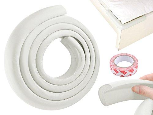 Kantenschutz Eckenschutz Klebeand Kinderschutz Möbel Sicherheit Baby #2675, Farbe:Weiß