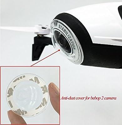 BTG Transparent Anti-dust Cover for Parrot Bebop 2 drone / Bebop 2 FPV / Bebop 2 Power FPV Camera Parts from Btg