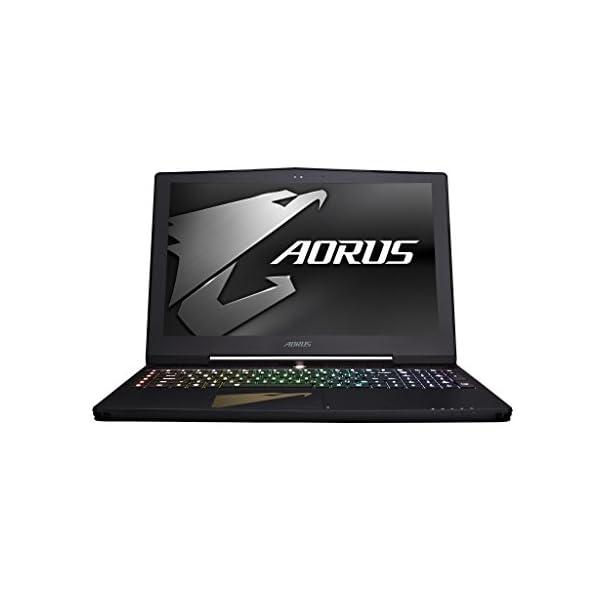 "AORUS X7 DT v8 – 17.3"" FHD  144Hz IPS Gaming Notebook – (Black) (Intel i7-8850H Processor, 16 GB RAM, 512GB SSD + 1 TB HDD, NVIDIA GeForce GTX 1080 (8GB) Graphics Card, Windows 10) 41xvisM31RL"