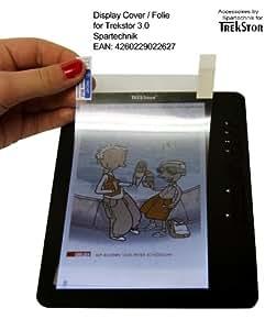 """Beste Adhäsion Folie für Trekstor 3.0: 1 Displayfolie für Trekstor 3.0 (Hugendubel Weltbild Jonkers) & Trekstor 7 (M) E-Book Reader - Schutz für Anzeige, sensitiv & entspiegelt für Touch Anwendungen für Touchscreen Display (15,1 x 8,4 - 7"""")"""