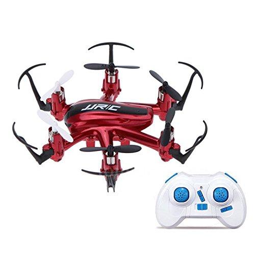 ICOCO JJRC H20 2.4G 4 canales Gyro Nano Hexacopter RTF juguete caliente Quadcopter 6-Axis (Rojo)