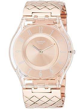 Swatch Damen-Armbanduhr SFE110GB