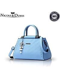 Nicole Doris 2016 new fashion women handbags tide casual and simple handbag  female shoulder bag Messenger bag a707d908b5755
