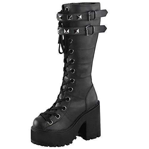 Heels-Perfect , Sandales pour femme Schwarz (Schwarz)