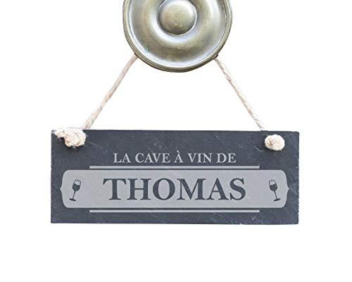 Plaque de porte personnalisée - La Cave à Vin de.