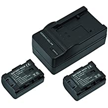 Mondpalast @ 2X Reemplazo Li-ion batería BN-VG114 BN-VG114AC BN-VG114E BN-VG114SU BN-VG114U BN-VG114US VG114 VG114AC VG114E VG114SU VG114U VG114US VG107 VG121 1400 mAh 3.6V + cargador para JVC EVERIO GZ-E10 E15 E100 E105 E200 E205 E207 E209 E300 E305 E309 E505 E509 EX210 EX215 EX310 EX315 EX355 EX510 EX515 EX555 JVC HD510 HM30 HM300 HM310 HM330 HM334 HM335 HM430 HM435 HM445 HM446 HM550 HM655 HM845 HM960 JVC GZ-MG750 MS150 MS210 MS215 MS216 MS250 videocámaras