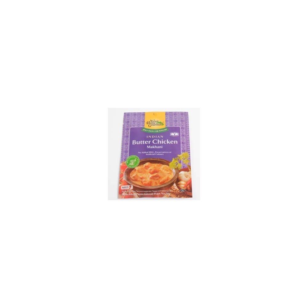 Asian Home Gourmet Wrzpaste Fr Indisches Huhngericht Mit Butter 50g