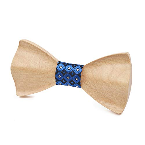 Noeud papillon de haute qualité pour hommes Noeud papillon en bois pour femmes de style de qualité supérieure papillon collier 3D DIY Noeud papillon en bois de mariage Business Dinner Bow Tie Noeud pa
