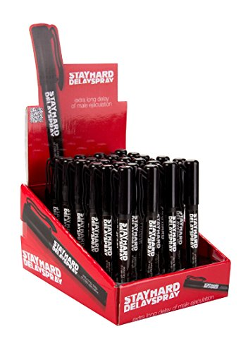 Pharmquests Stay Hard Delay Spray Display - 24 Pieces, 1er Pack (1 x 24 Stück)