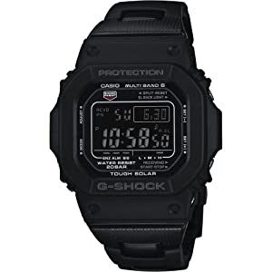 G-Shock GW-M5610BC-1ER - Reloj digital de cuarzo para hombre con correa de resina, color negro de G-Shock