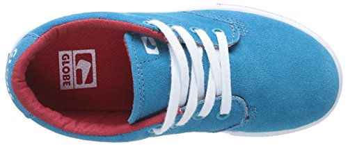 Globe Lighthouse Slim, Baskets mode mixte enfant Bleu (12079 Aqua Blue)