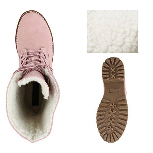 Stiefelparadies - Stivali Donna Rosa