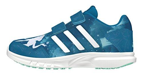 adidas Disney Frozen Cf C, Chaussures de Sport Garçon Bleu - Azul (Azuuni / Ftwbla / Verhie)