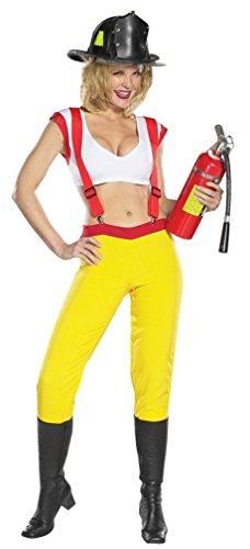 Sexy Fire Fighter Medium (Sexy Race Car Kostüme)